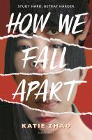 How we fell apart YA