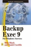 Backup Exec 9 for Windows Servers