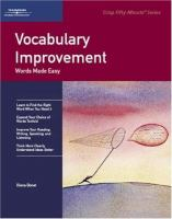 Vocabulary Improvement