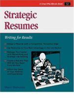 Strategic Resumes