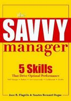 The Savvy Manager