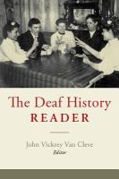 The Deaf History Reader