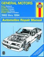 General Motors J-cars Automotive Repair Manual
