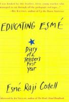 Cover of Educating Esme