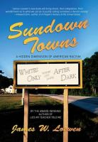 sundown towns, by james loewen