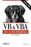 VB & VBA in A Nutshell