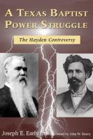 A Texas Baptist Power Struggle