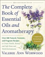 Complete book of essential oils and aromatherapy book cover