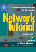 Network Tutorial, Fifth Edition
