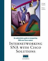 Internetworking SNA With Cisco Solutions