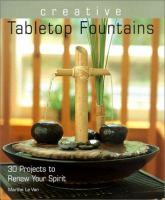 Creative Tabletop Fountains book cover