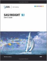 SAS/INSIGHT 9.1 User's Guide