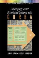 Developing Secure Distributed Systems With CORBA