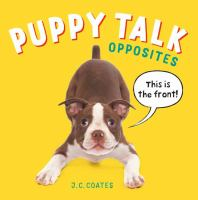 Cover of Puppy Talk Opposites