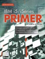 IBM I5/iSeries Primer, Fourth Edition
