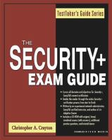 Security+ Exam Guide