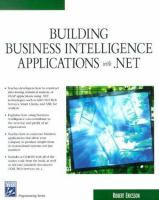 Building Business Intelligence Applications With .NET
