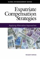 Expatriate Compensation Strategies