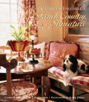 French Country Signature book cover