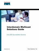 Interdomain Multicast Solutions Guide