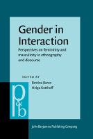 Gender in Interaction