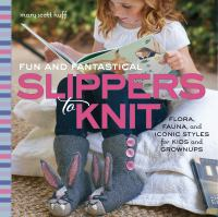 Image: Fun and Fantastical Slippers to Knit