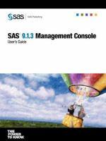 SAS 9.1.3 Management Console