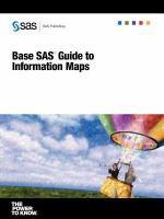 Base SAS Guide to Information Maps