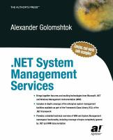 NET System Management Services