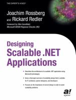 Designing Scalable .NET Applications