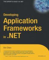Developing Application Frameworks in .NET