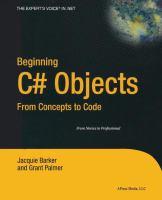 Beginning C# Objects