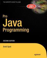 Pro Java Programming, Second Edition