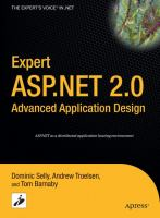 Expert ASP.NET 2.0