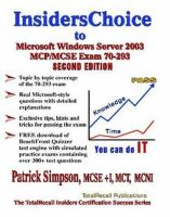 InsidersChoice to MCP/MCSE Exam 70-293 Windows 2003 Server Certification