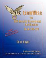 ExamWise for CIW Security Professional