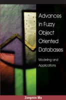 Advances in Fuzzy Object-oriented Databases