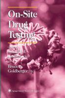 On-site Drug Testing
