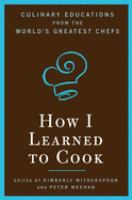 Cover of How I Learned to Cook