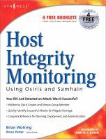 Host Integrity Monitoring