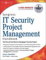 IT Security Project Management Handbook