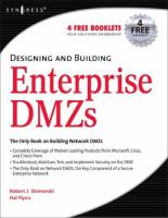 Designing and Building Enterprise DMZs