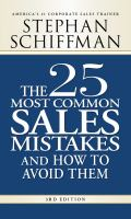 The 25 Most Common Sales Mistakes and How to Avoid Them, 3rd Edition