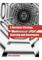 E-business Strategy, Sourcing, and Governance