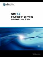 SAS 9.2 Foundation Services