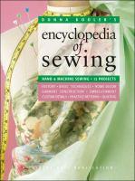Donna Kooler's Encyclopedia of Sewing