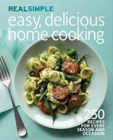 Easy, Delicious Home Cooking