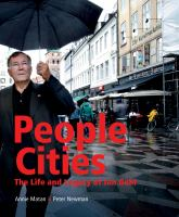 People cities : the life and legacy of Jan Gehl cover