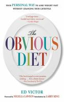 The Obvious Diet