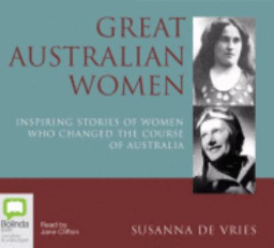 Great Australian women cover